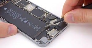 Cambiar batería del iPhone