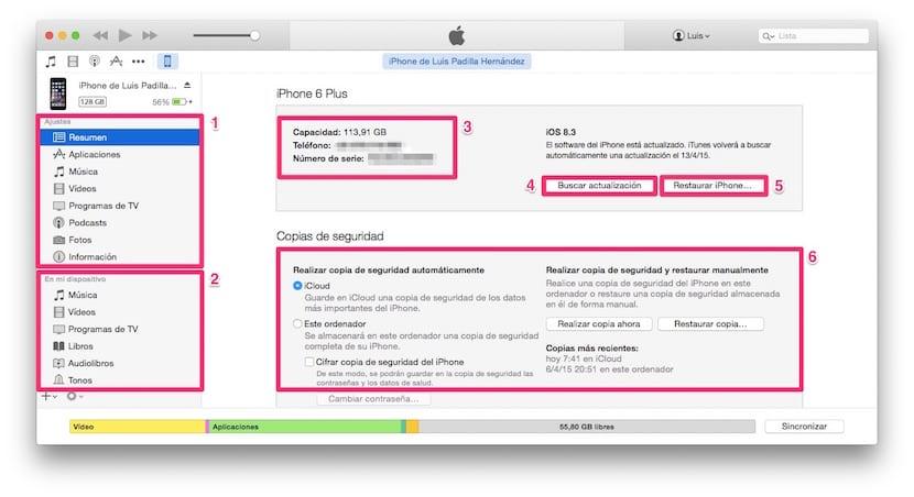 iTunes-Resumen