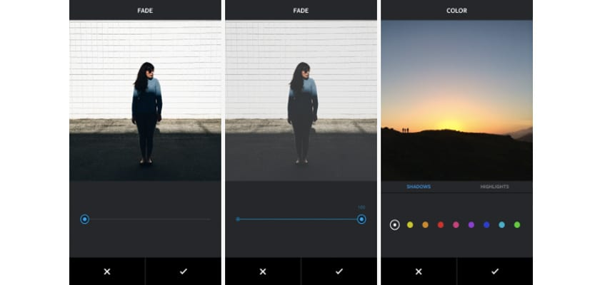 instagram color y degradado