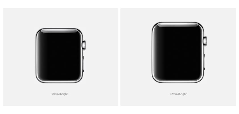 pantallas del Apple Watch