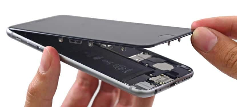 Reparar pantalla del iPhone