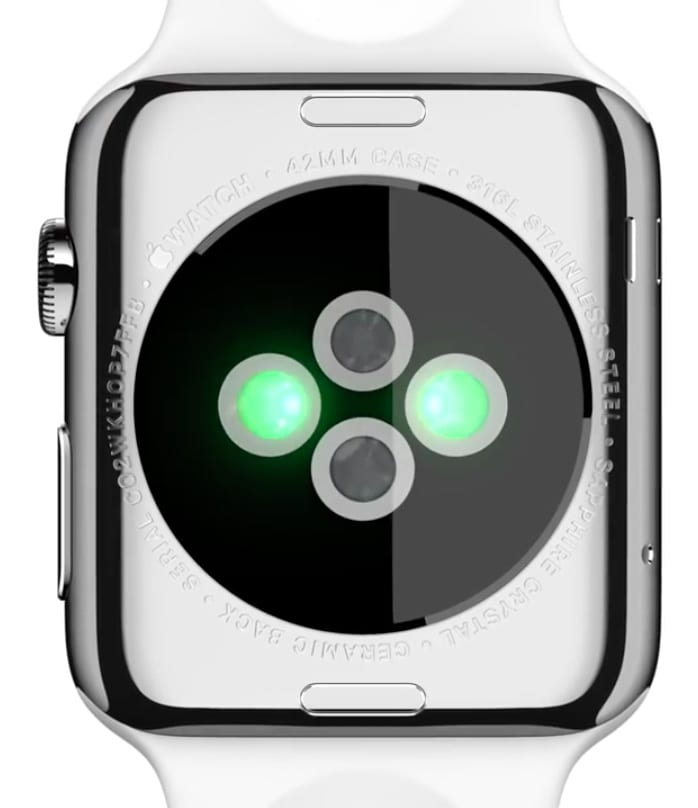 Pulsómetro del Apple Watch