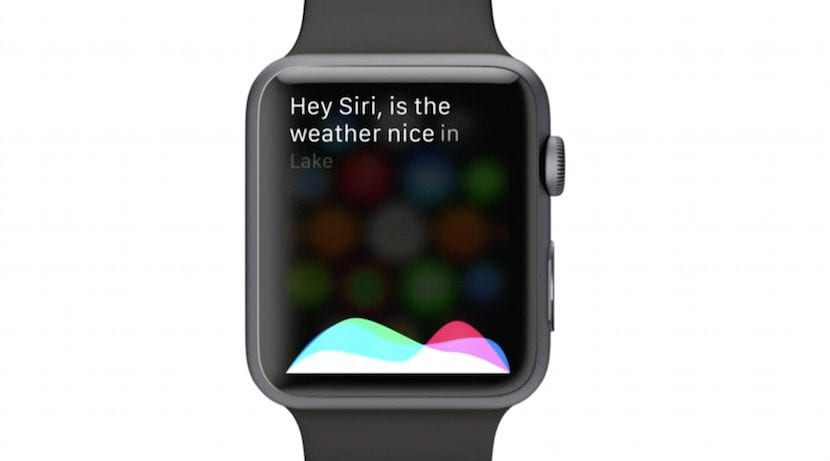 Siri en el Apple Watch