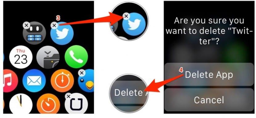 eliminar-aplicaciones-apple-watch