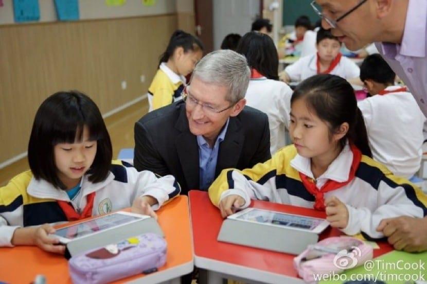 """De nuevo en la """"Communication University of China Primary School"""""""