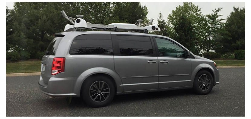 coche de apple maps