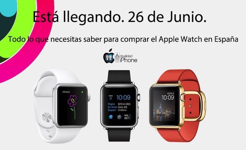Comprar el Apple Watch en España