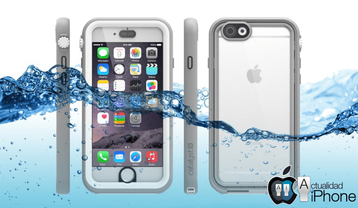 carcasa agua iphone 7