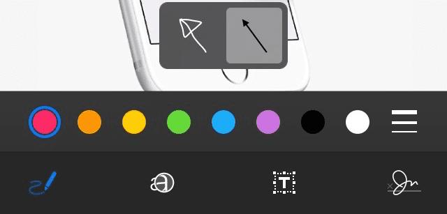 Marcación iOS 9