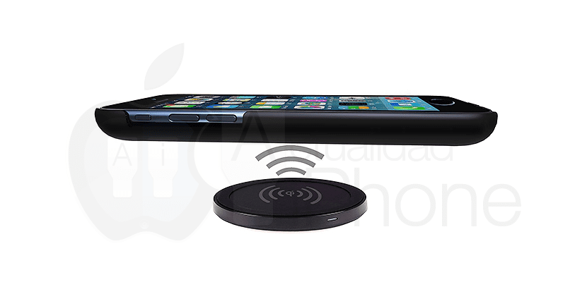 iPhone con carga inalámbrica