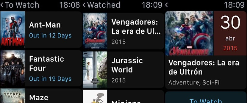 TodoMovies-Apple-Watch