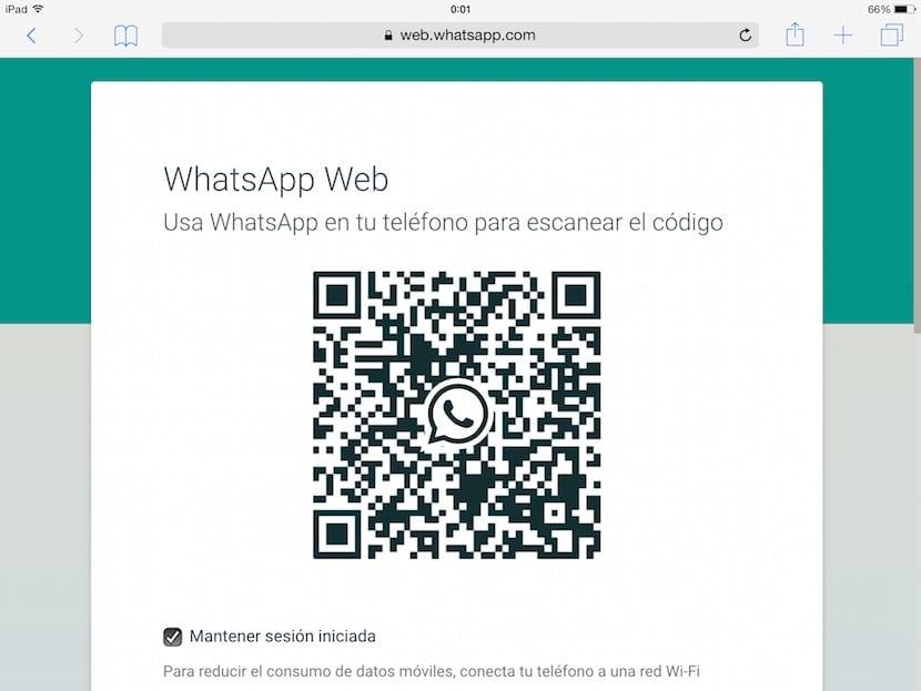 como utilizar whatsapp en el ipad