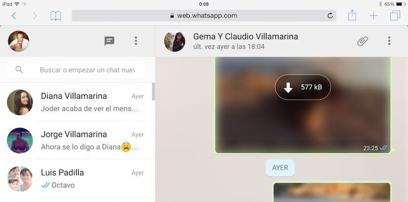 como usar whatsapp en el ipad