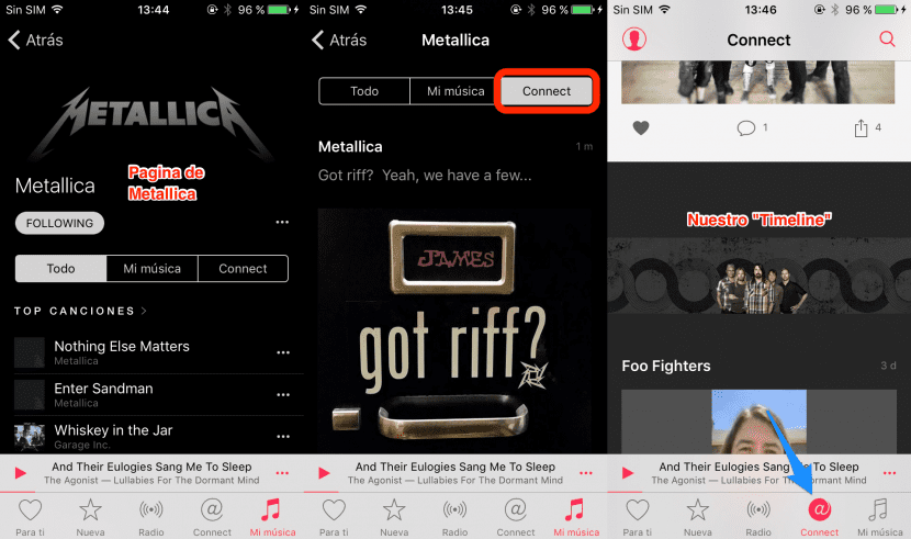 Connect, de Apple Music