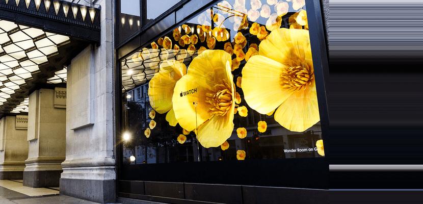 entrada selfbridges flores amarillas