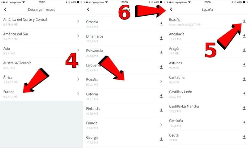 Tutorial de mapas offline en el iPhone