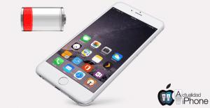iPhone con batería baja
