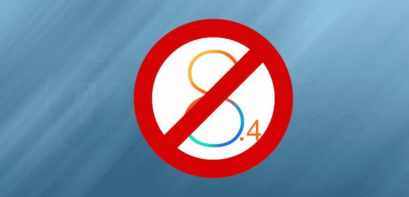 iOS 8.4 ya no se firma y ya no es posible hacer el downgrade