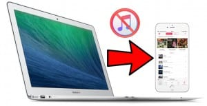 Pasar música sin iTunes