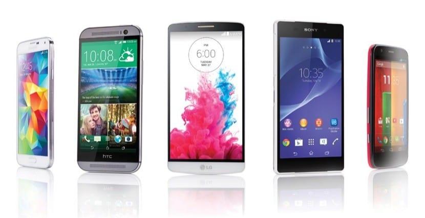 teléfonos-android