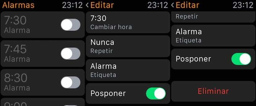 Alarmas-Apple Watch