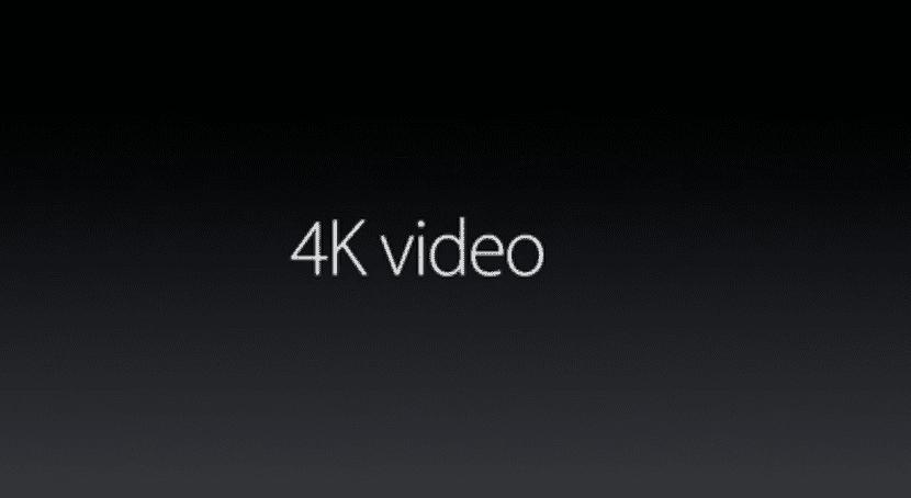 Grabación en 4K