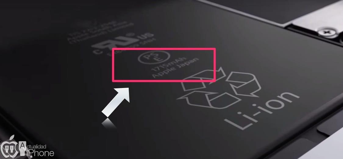 Apple confirma que el iPhone 6S tiene una batería menor