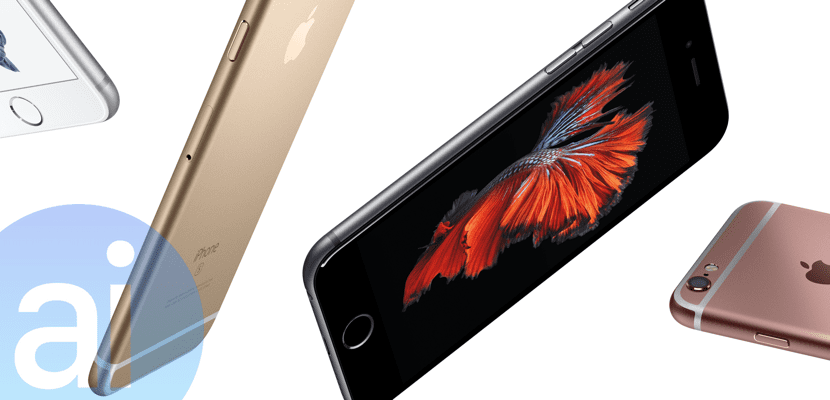 Gama de colores del iPhone 6S