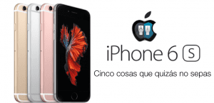 iPhone 6s detalles