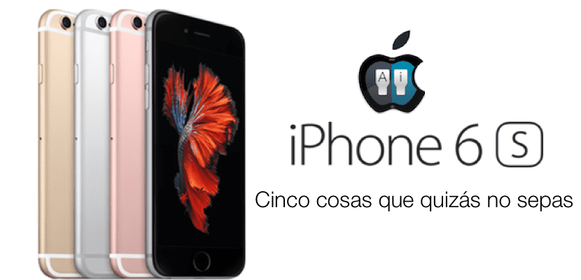 iPhone 6s detalles