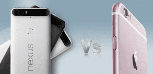 Nexus VS iPhone 6s