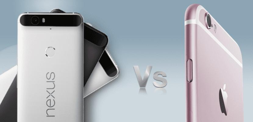 Nexus VS iPhone 6s