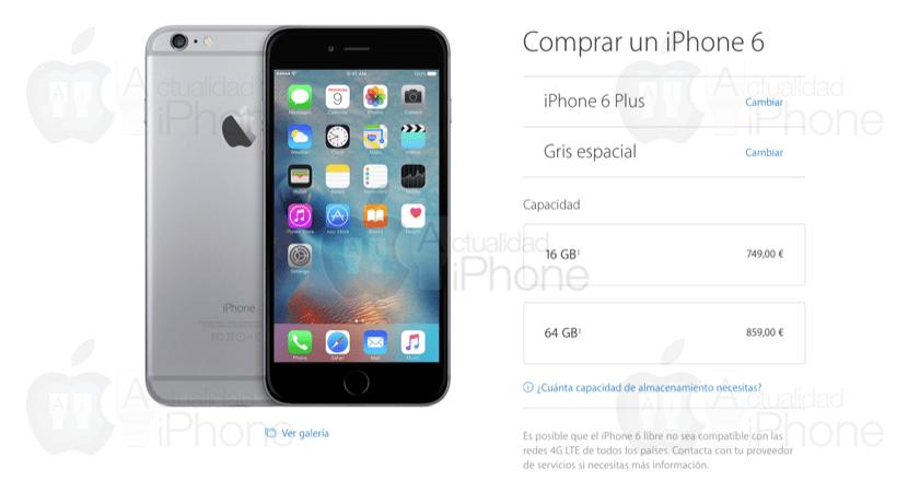 apple costo iphone 5s