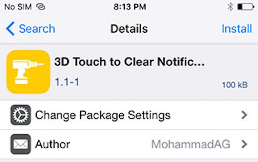 Tweak 3DTouch
