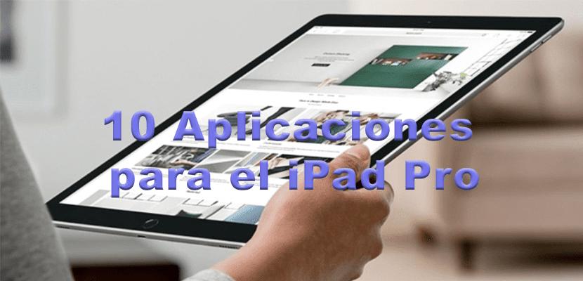 10 Apps para el iPad Pro