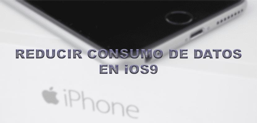Reducir consumo de datos en iOS9