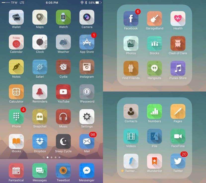amber-winterboard iOS 9