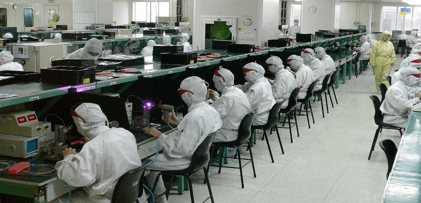 Producción de iPhone