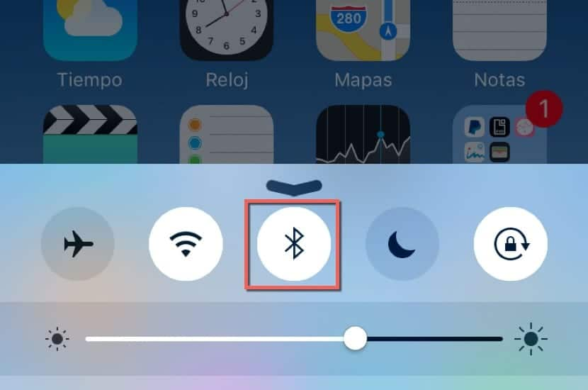 Apagar Bluetooth