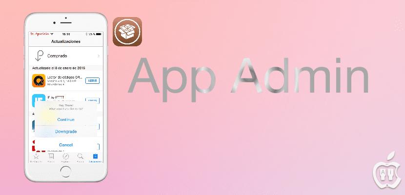 App Admin: descarga versiones anteriores del App Store [jailbreak]