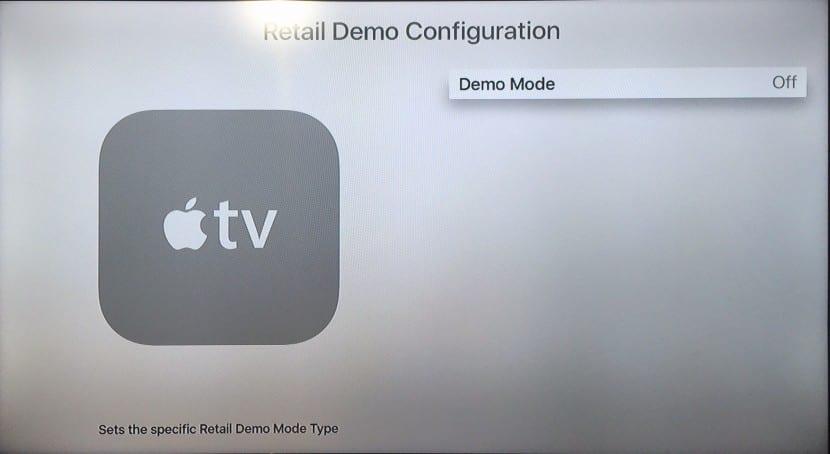 tvOS retail demo