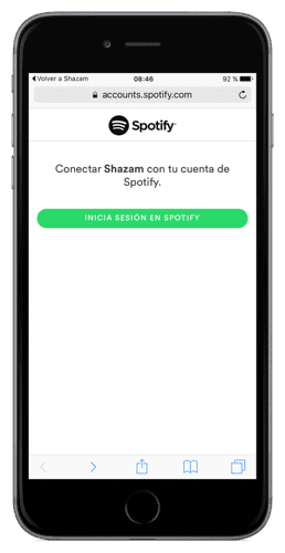 Login Spotify