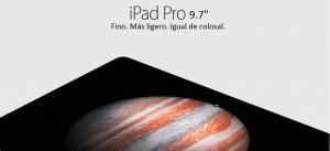 iPad Pro de 9.7, concepto de anuncio
