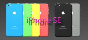 Concepto de iPhone SE