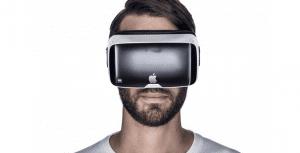 Concepto de gafas VR de Apple