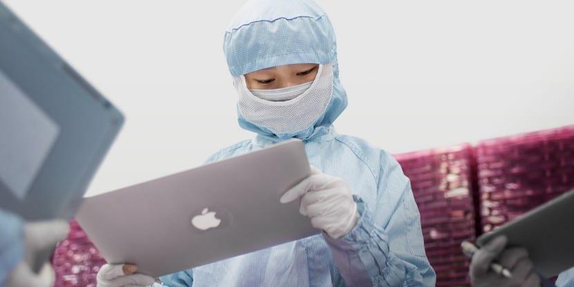 Cadena de suministros de Apple