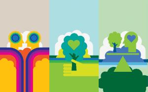 Fondos de pantalla iOS sobre reciclage