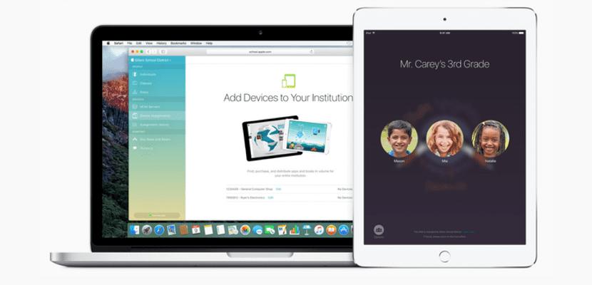 aula para iPad