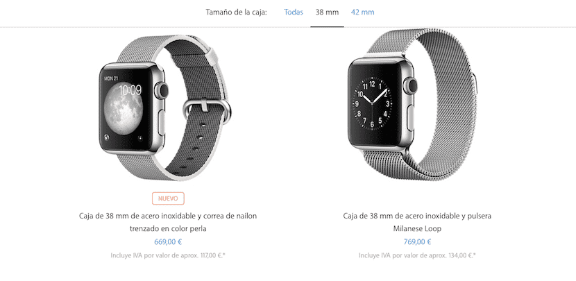 Correa Nylon Apple Watch