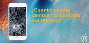 Precios de la pantalla del iPhone